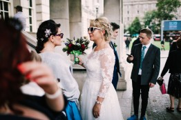 Belfast City Wedding by Photography by Hannah Julia