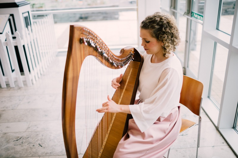 coleraine registry office wedding indian irish ruth corry harpist