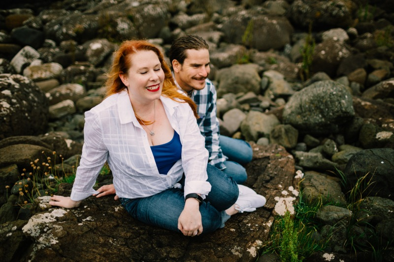 giant's causeway just us session honeymoon love